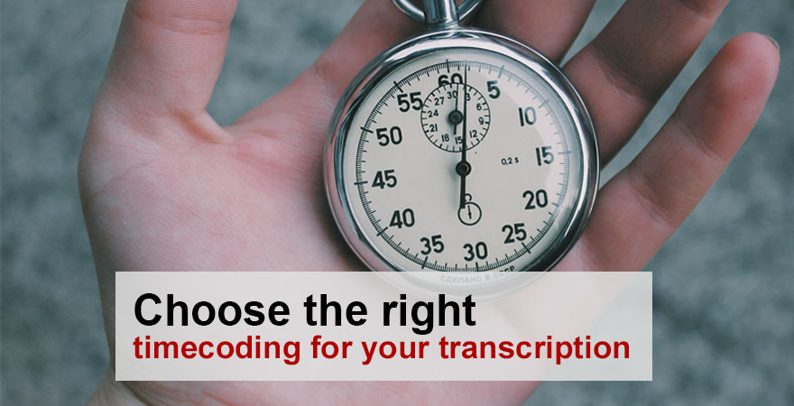 Timecodes in Transcription Types and Uses - ATC Blog