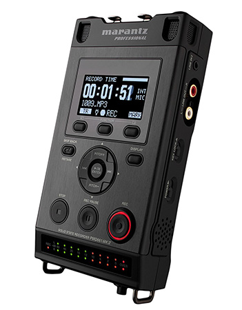 7 Digital Recording Devices for Oral History Interviews - Marantz PMD-661