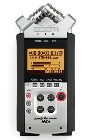 7 Digital Recording Devices for Oral History Interviews - Zoom H4n Handy Recorder