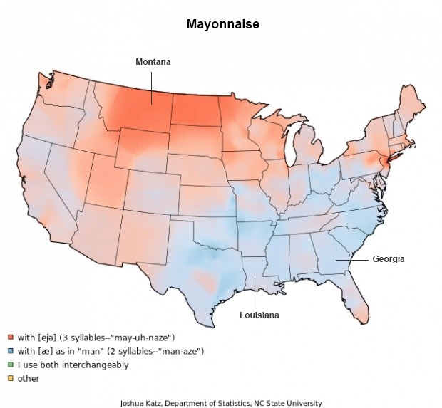 Mayonnaise - Words Pronounced Differently - Audio Transcription Center Blog